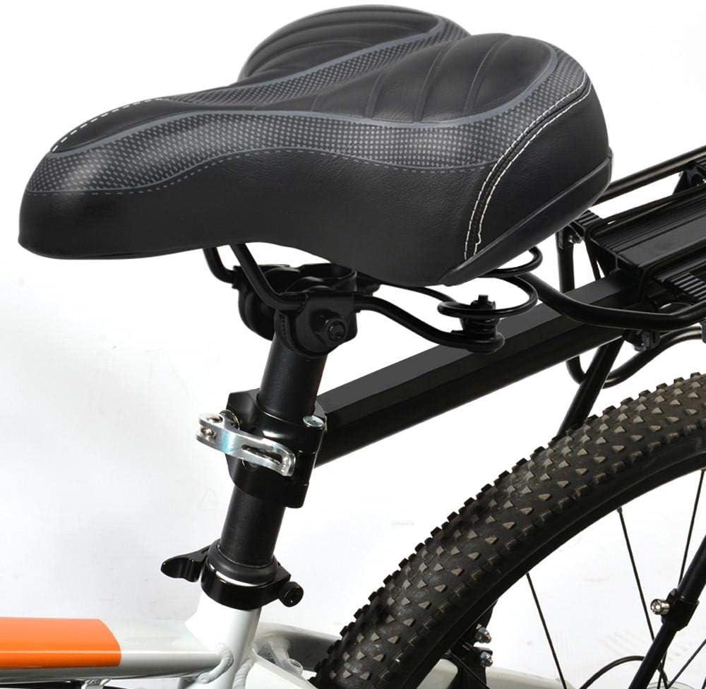 Con el culete para bicicleta Extra anchos para hombre Big tinkertonk Gel Cruiser para hacer un mu/ñeco de suave para comodidad adicional sill/ín