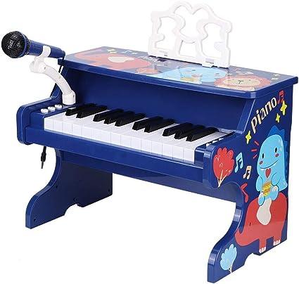 Juguete de piano para bebé, 25 teclas de teclado de piano ...