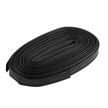amazon com 600v 125c 2 1 heat shrinkable wire wrap tube cable rh amazon com automotive cable sleeve Automotive Wiring Kit