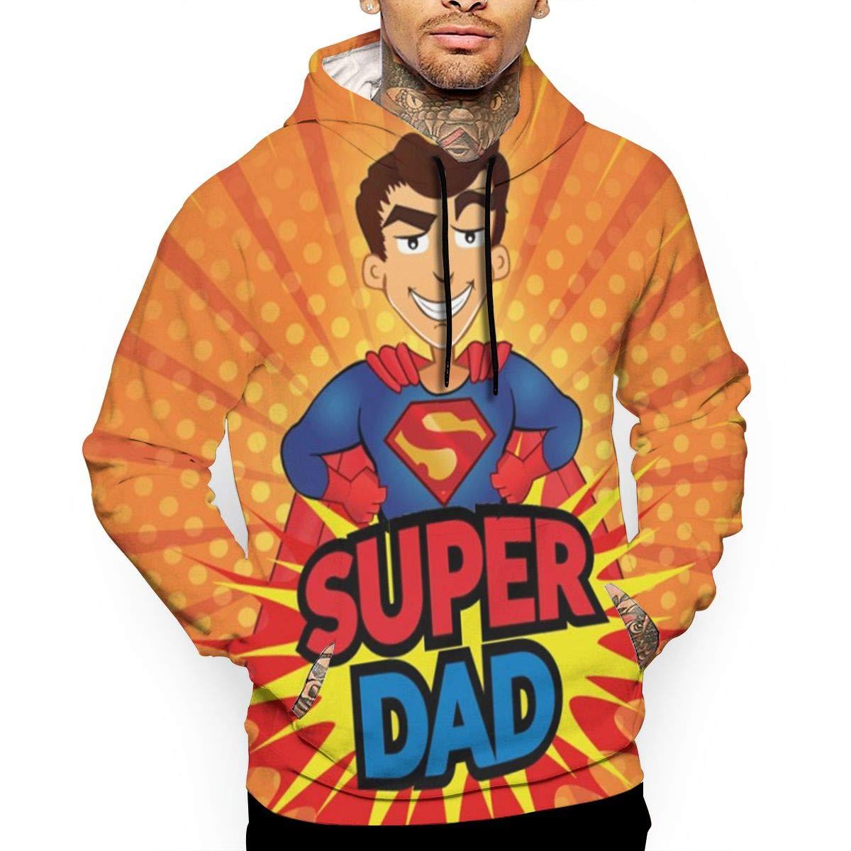 Super Dad Sweater für Männer Herren Superman Sport & Freizeit