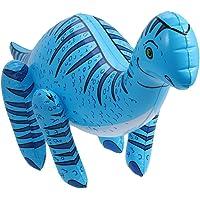 NUOLUX Iguanodon Inflatable Dinosaurs Toys Large Inflatable Dinosaurs Animals Toys for Party Decor (Blue)