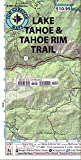 Lake Tahoe & Tahoe Rim Trails (Tom Harrison Maps)