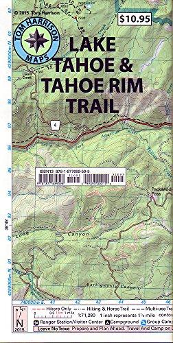 (Lake Tahoe & Tahoe Rim Trails (Tom Harrison Maps))