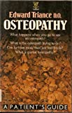 Osteopathy a Patients Guide
