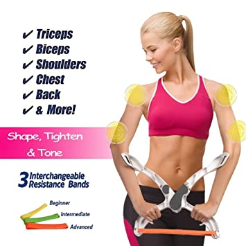 Buy NIRVA Arm Workout Machine Upper Body Resistance Exercise