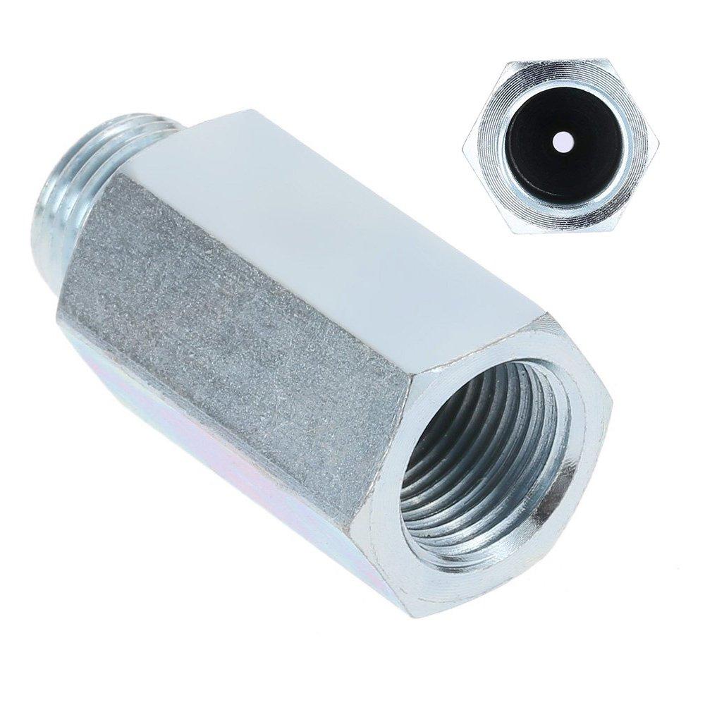 Lambdasonde Simulator Eliminator Katalysator Edelstahl Sauerstoff-Sensor O2 Lambda Sensor Extender Abstandhalter f/ür Decat /& Wasserstoff M18