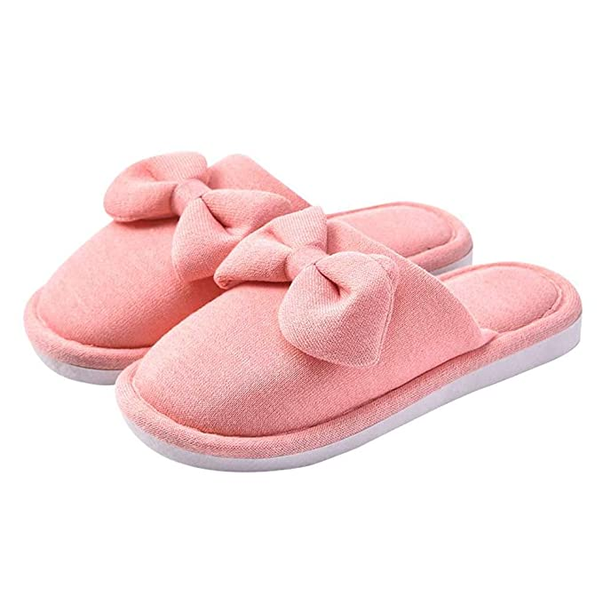 e6879941ed4a9 Unisex Indoor Home Slippers Memory Foam Cozy Women Men Warm House Shoes  Slides