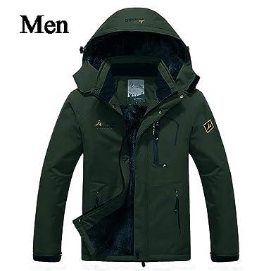 Mens Winter Jacket Men Waterproof Windproof Parka Male Snow Defence Thick Coats Mens Warm Windbreaker AM178