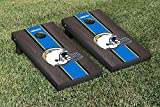 NFL San Diego Chargers Onyx Stained Stripe Version Football Cornhole Game Set, 24'' x 48'', Multicolor