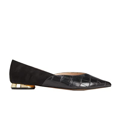 dd9b30def9cf Parfois - Gold Heel Ballerinas - Women - Size 3 - Black  Amazon.co ...