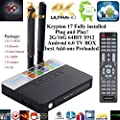 Kukele 2017 Plug & Play Ready Fully Unlocked S912 Android 6.0 Marshmallow Smart TV BOX Streaming Media Player [Antenna/4k/OCTA Core/2GB+16GB/Dual WIFI/Krypton 17 Loaded] Watch Anything