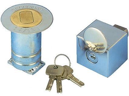 Sag Seguridad Bb1 - Cierre pers bb1 acero cromado sag