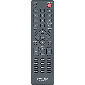 amazon com replacement remote control fit for dynex dx 19e220a12 dx rh amazon com Dynex TV Manual DX-55L150A11 Dynex TV Manual DX-55L150A11