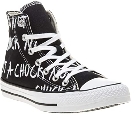 Converse Chuck Taylor All Star Hi Femme Baskets Mode Noir ...