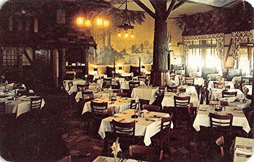 English Terrace - Fort Wayne Indiana English Terrace Restaurant Interior Vintage Postcard K38213