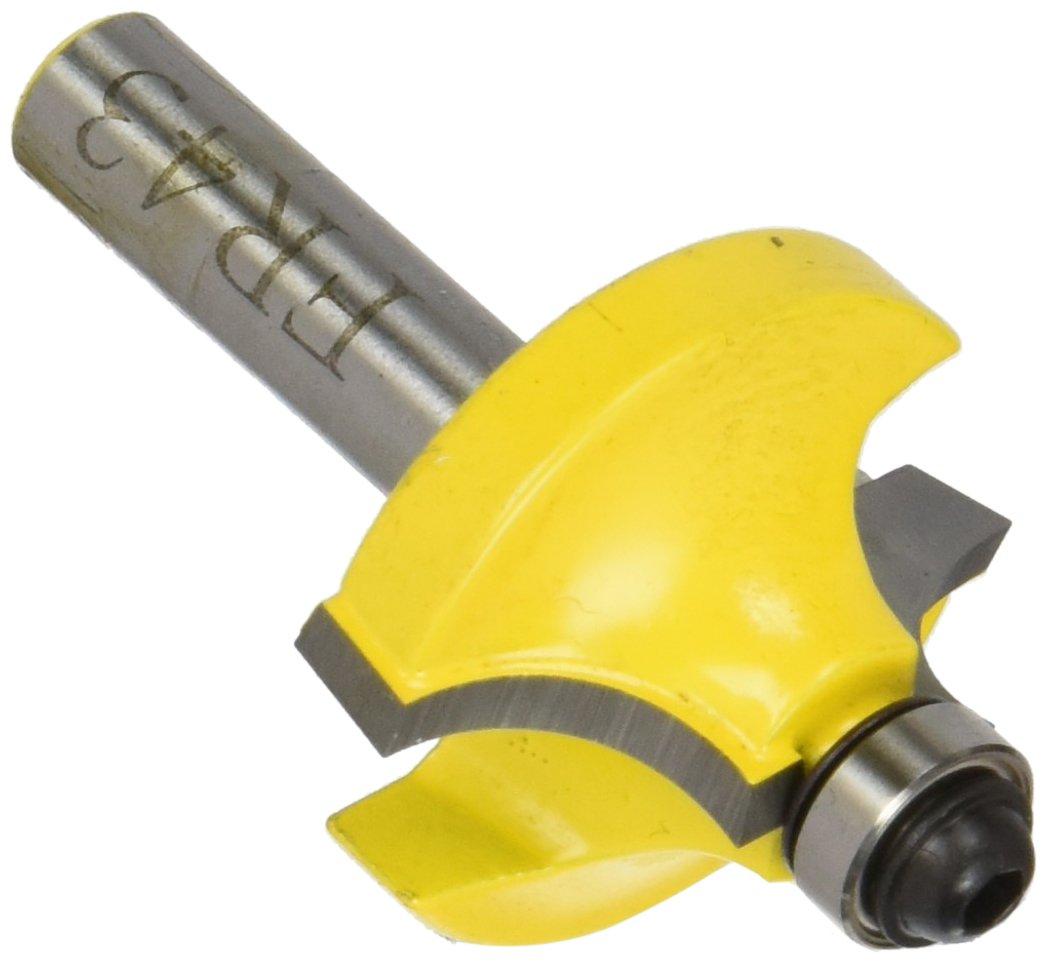 Kivec FR43-8 - Fresa de moldura có ncava 31, 8x15, 9 mm de metal duro para madera mango de 8x36, 1 mm radio 9, 5 mm