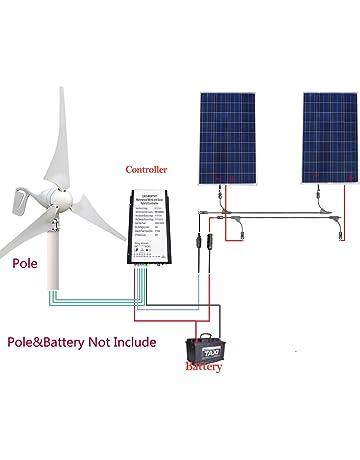Sistema de alimentación solar independiente de la red de 12 V/24 V 600 W