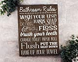 Kids Bathroom Decor Bathroom Rules Sign Bathroom Rules Sign Rustic Kids Bathroom Art Kids Bathroom Wall Decor Rustic Bathroom Sign Bathroom Wall Art