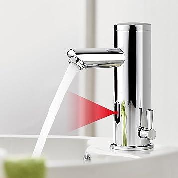 BONADE Infrarot IR Wasserhahn Automatische Waschbeckenarmatur Spüle ...
