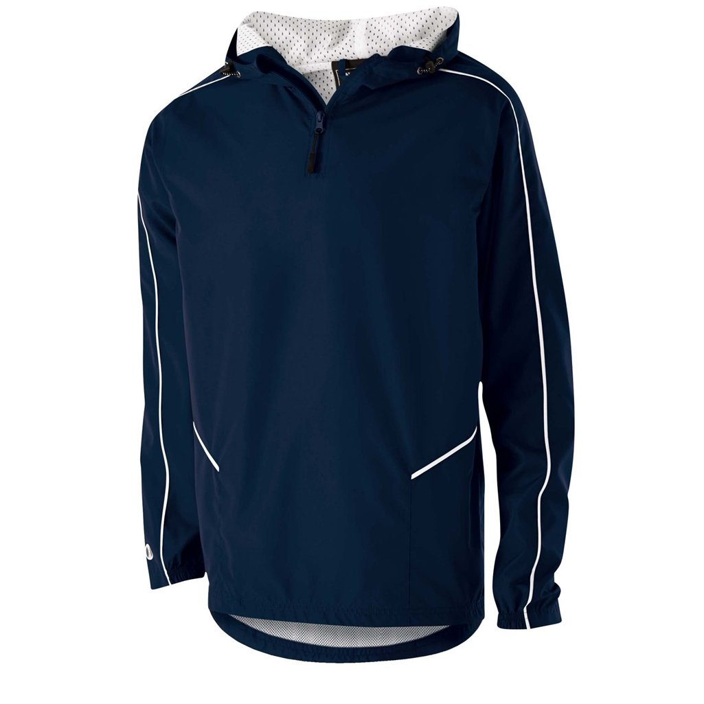 Holloway Wizard Youth Pullover (X-Large, Navy/White) by Holloway
