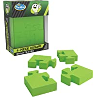 ThinkFun Pocket Brainteasers 4-Piece Jigsaw STEM Toy and Logic Game for Boys and Girls Age 8 and Up - A tiny brainteaser…