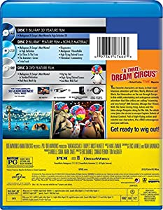 Madagascar 3: Europe's Most Wanted (Three-Disc Blu-ray 3D/Blu-ray/DVD Combo + Digital Copy + UltraViolet) from Universal Pictures Home Entertainment