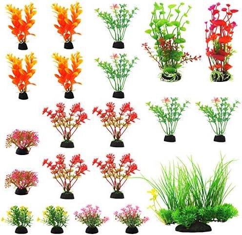 Plantas artificiales para decoraciones para acuarios 3