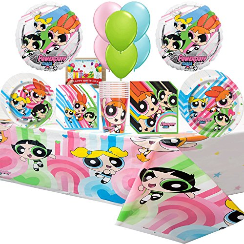 Powerpuff Girls Party Supplies Deluxe Party Pack Bundle
