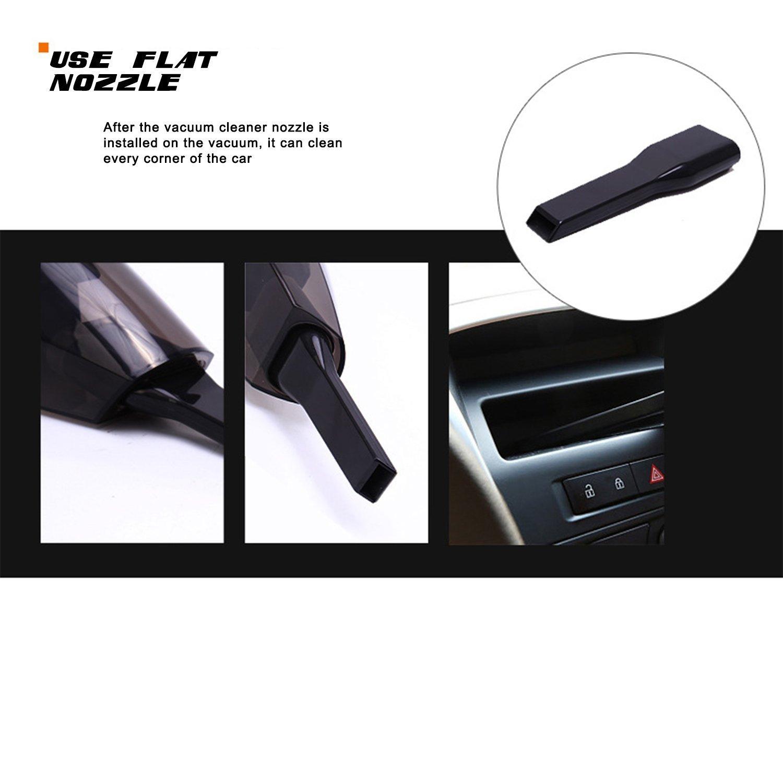 multifunzione collegabile allaccendisigari Mini-aspirapolvere portatile da automobile 120 W CC bagnato//asciutto cavo di alimentazione di 5 m