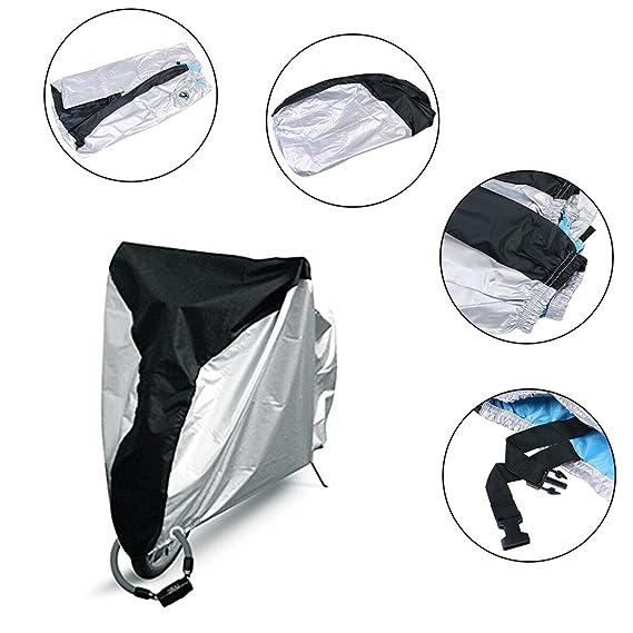 Beeway® 190T Nylon Waterproof Motorcycle Cover Anti Dust... Motorbike Cover