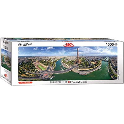EuroGraphics (EURHR Paris France 1000Piece Puzzle (Panorama) 1000Piece Jigsaw Puzzle: Toys & Games [5Bkhe0206619]