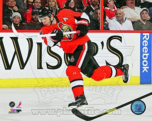 Jason Spezza 2012-13 Action Photo 10 x 8in