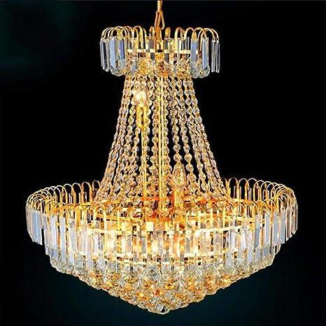 Moda moderna LED Royal Golden Empire cristalina de las ...