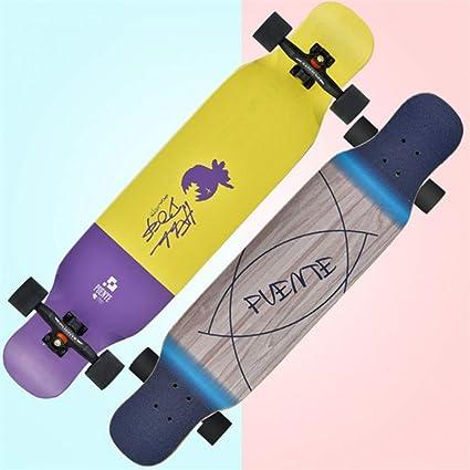 GDYYZYQ Adultos Skate Longboard Deck Highway Dance Board ...