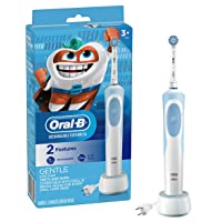 Deals on Oral-b Kids Electric Toothbrush w/Sensitive Brush Head