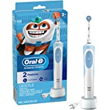 Oral-B Kids Electric Toothbrush With Sensitive Brush Head and Timer, for Kids 3+ (Product Design May Vary)