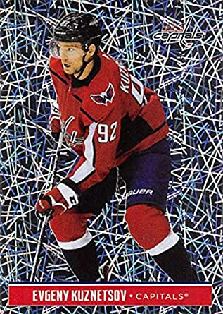 d2844c9500b 2018-19 Panini NHL Stickers  254 Evgeny Kuznetsov Washington Capitals FOIL  Hockey Card