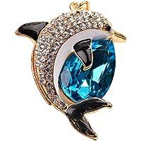 iTemer 1 Pieza Exquisito magnífico delfín Estilo Diamante