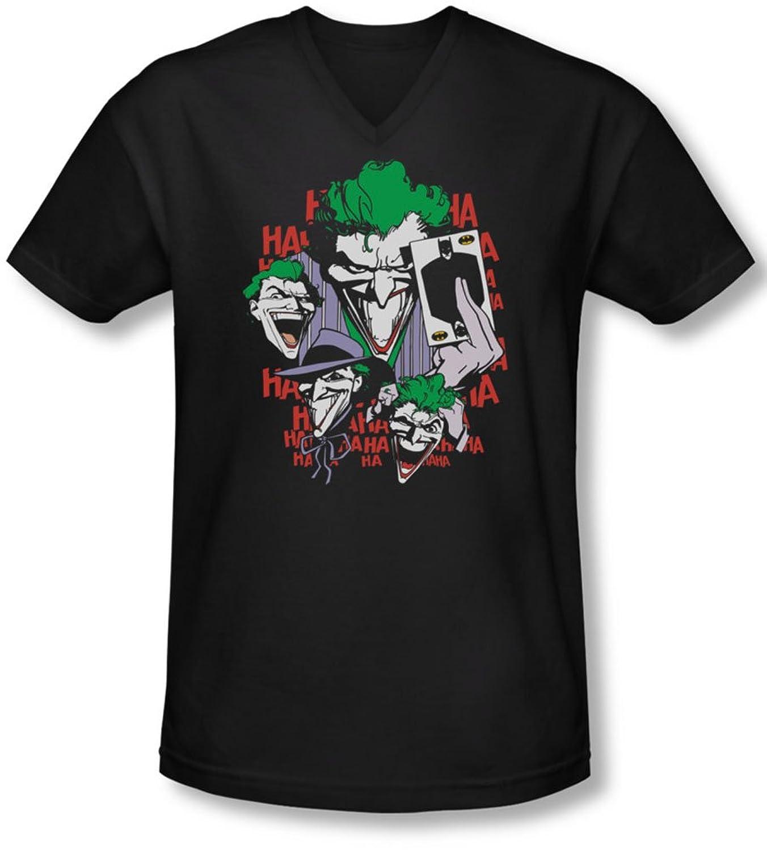Dc - Mens Four Of A Kind V-Neck T-Shirt
