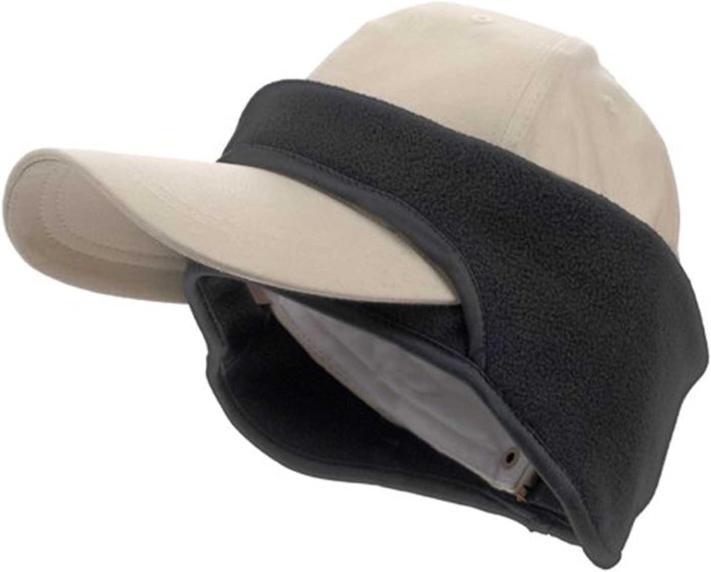 FLEECE CAP EAR BAND Windproof Black