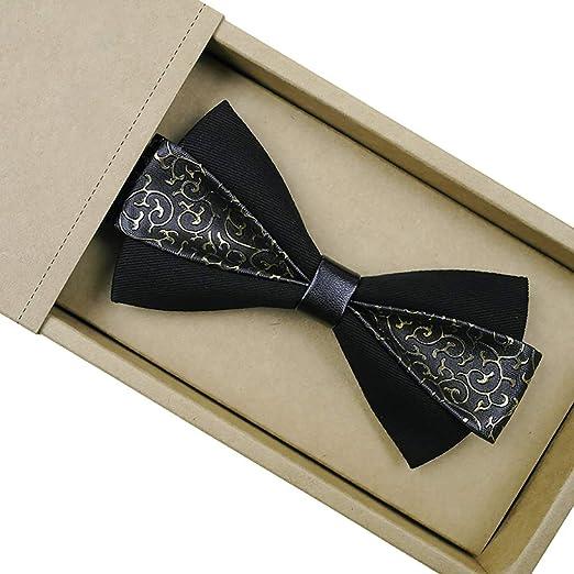GJF Traje de Corbata de moño para Hombres Vestido de Corbata de ...