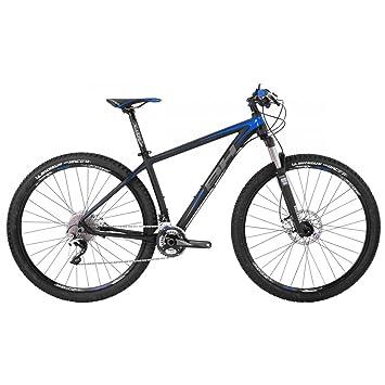 BH EXPERT-Bicicleta de montaña 29 7,7 negro, azul, gris, XL, talla ...