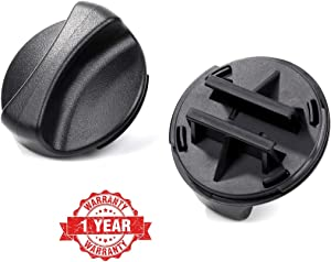 Reyhoar 2186494B Refrigerator Water Filter Cap Replacement Part - Compatible with Whirlpool & Kenmore & Kitchenaid Refrigerators - Replaces WP2186494B, 2186884B, 2186494TG, 4392866, 4392870