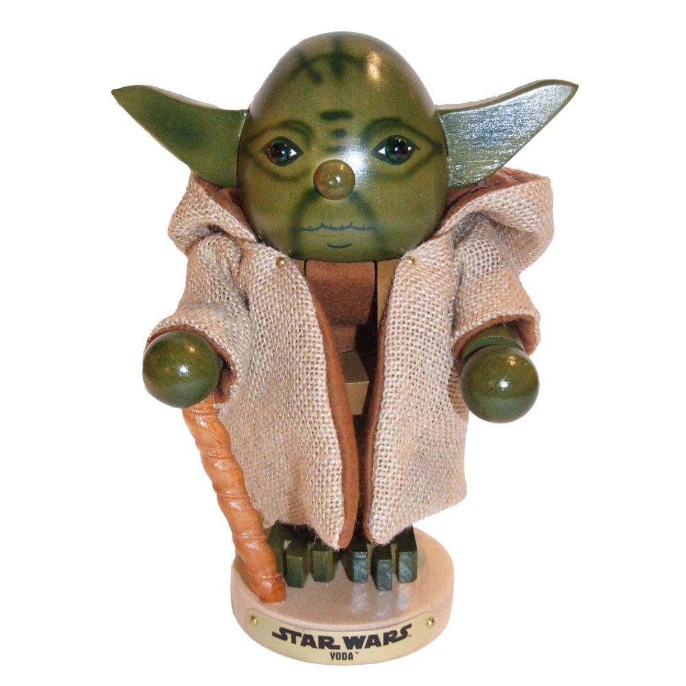 Kurt Adler Steinbach 10.5-Inch Nutcracker Star Wars Series,Yoda