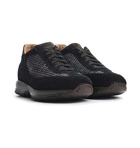 Santoni Sneakers Uomo MBIN13371ANIVDAMU60 Blu  Amazon.it  Scarpe e borse ad5cac3315d