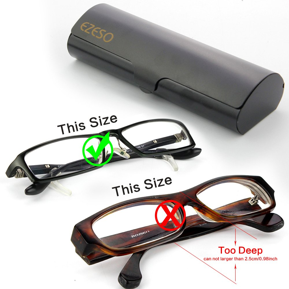 EZESO para hombre Funda de gafas