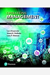 Operations Management: Processes and Supply Chains (12th Edition) (What's New in Operations Management) Hardcover