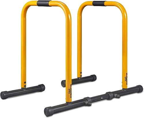 side facing relife workout dip bar