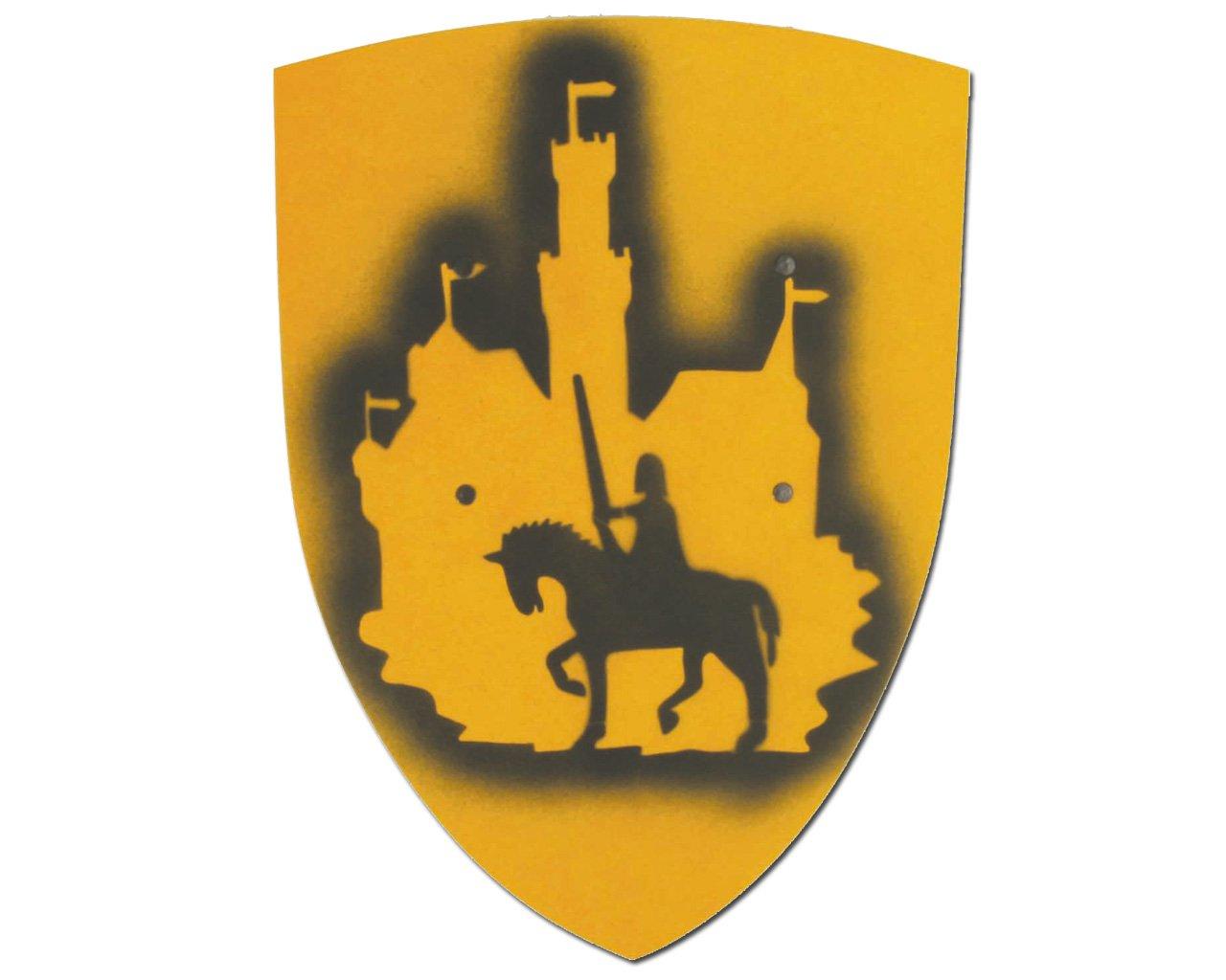 Pequeño Niños Ritter placa de madera (Ritter con Burg VAh