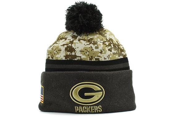 a8687bb707d Amazon.com   New Era 2016 Men s Salute to Service Knit Hat (One Size ...